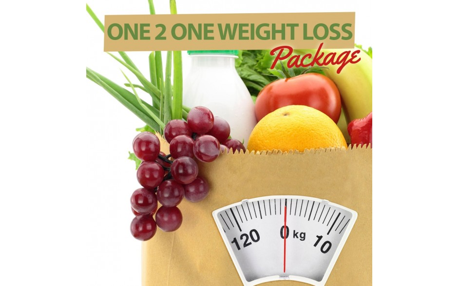 One 2 One Weight Loss Nutrition and Hypnosis Package